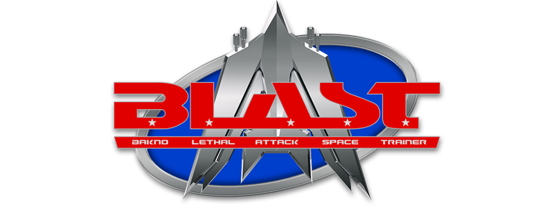 Blast. Arcade, lasers, bombs, power-ups, epic action for hours